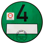Green badge